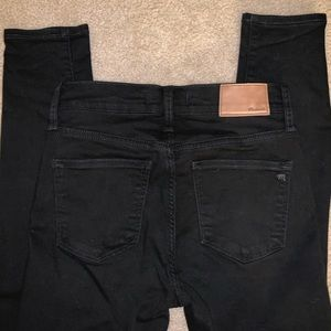 """Madewell 9"""" high-rise skinny jeans size 25 Tall"""